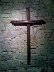 Old Rugged Cross: photo taken by my husband